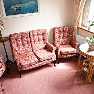 Guest Lounge in Portree on the Isle of Skye
