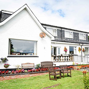 Springfield Guest House Accommodation in Portree Exterior